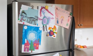 Your child's art: Picasso could hardly have done better.