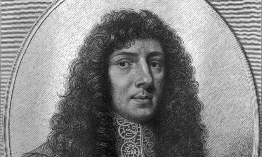 John Aubrey by William Faithorne, c1666.