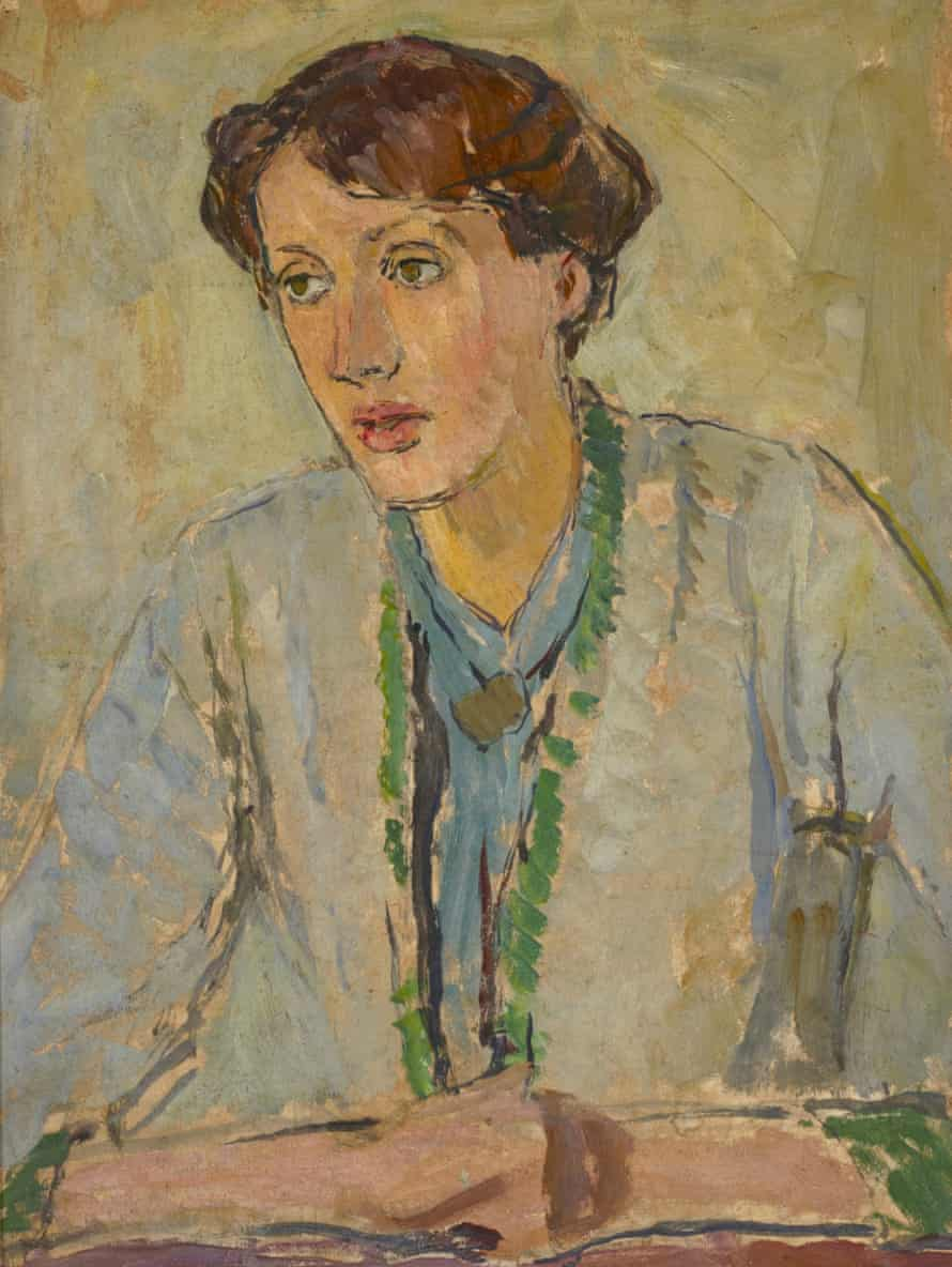 Virginia Woolf by Vanessa Bell.