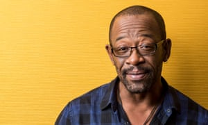 Lennie James: 'I had to make a really big effort to raise my kids in a way that didn't punish them for the life I had.'