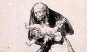 Goya's Wicked Woman