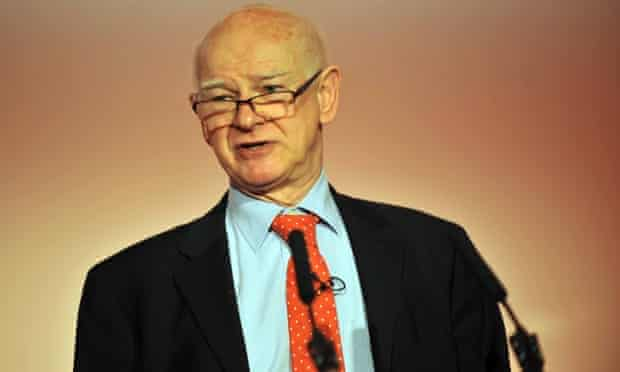 Sir Howard Davies at the Runways UK conference in 2014.