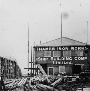 West Ham originated as the works team of The Thames Iron Works and Shipbuilding Company.