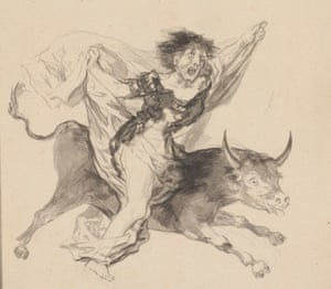 A detail from Nightmare, circa. 1816-20