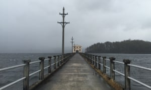 The road to Pumphouse point.