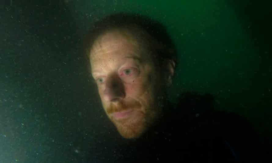 Simon Faithfull underwater self portrait wreck of the brioney victoria