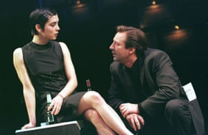 Liza Walker And Neil Pearson in Closer at the Lyric, Shaftesbury Avenue