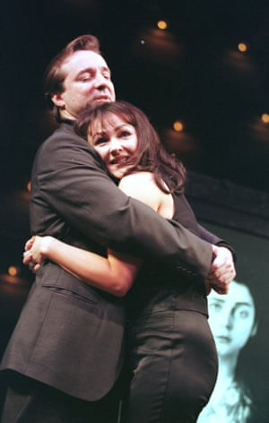Neil Pearson And Frances Barber in Closer At The Lyric, Shaftesbury Avenue, 1998