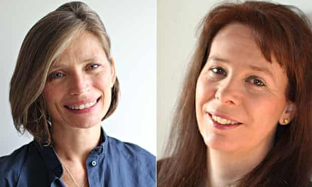 authors Lydia Syson and Helen Grant