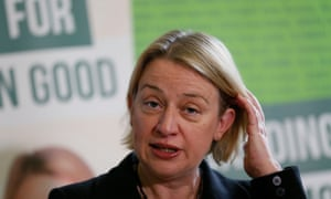 Britain's Green Party leader Natalie Bennett speaks during the party's general election campaign launch in central London February 24, 2015.