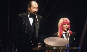 Brits Mick Fleetwood and Samantha Fox