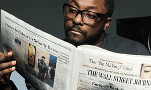 Will.i.am in the Wall Street Journal's 'Make Time' ad