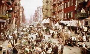 little italy mulberry street new york 1900