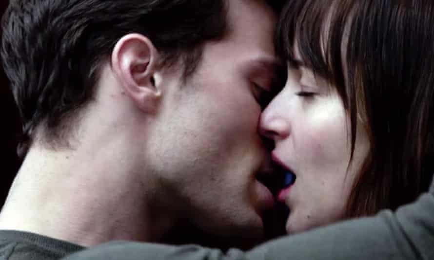 Hurts so good … Jamie Noonan and Dakota Johnson in Fifty Shades of Grey