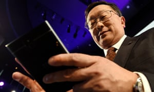 Under John Chen, pictured, BlackBerry has retrenched to its business-user roots.