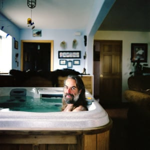 Kotzebue, Alaska, USA. Brett Connor. Why would you have a hot tub outside when it's so cold?