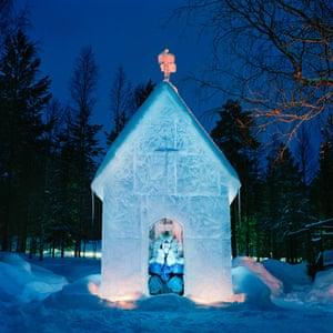 Sonka, Finland. Matti Härkönen. Each winter Matti builds an ice church