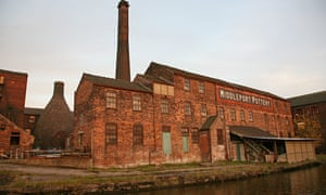 Middleport pottery factory, Stoke-on-Trent, Staffordshire