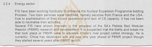 Extract from leaked document.