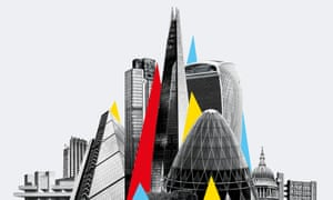 London skyline – composite