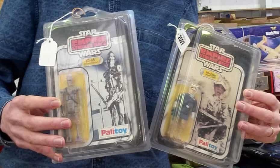 Items from Craig Stevens' Star Wars collection