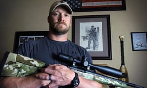 Chris Kyle, author of American Sniper and subject of a film of the same name.