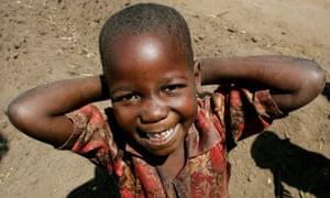 Girl in Tambani, Malawi