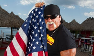 'I grew up in awe of the larger-than-life wrestlers I watched on TV – cartoonishly giant alpha males': legendary wrestler Terry Bollea aka Hulk Hogan.