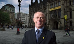 Sir Richard Leese, the leader of Manchester city council