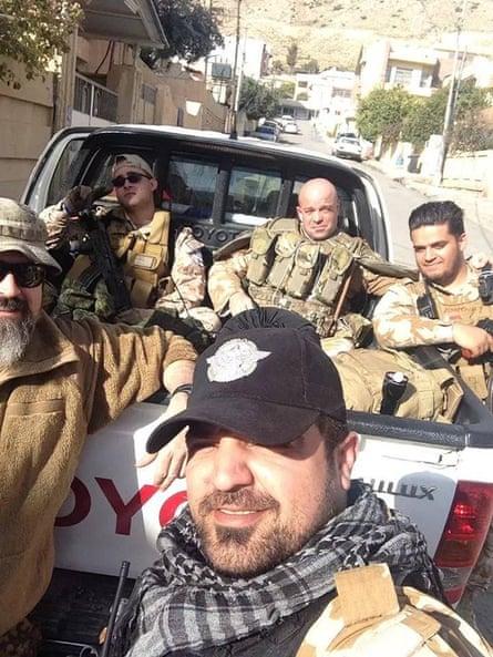 Briton Tim Locks fighting Isis in Syria.