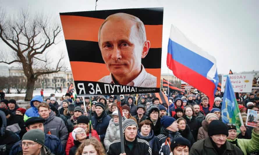 anti-Maidan banner