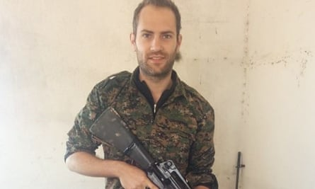 Macer Gifford, who is fighting against Isis