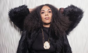 A close encounter of the furred kind: Swedish-American singer Mapei.