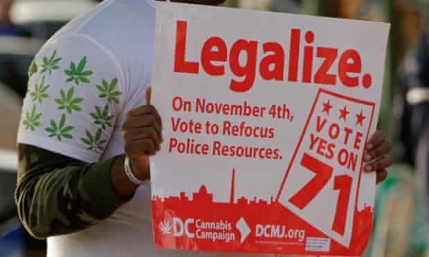 washington dc marijuana initiative 71 sign