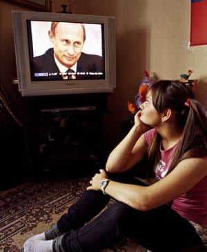 """<strong>Vika: """"Putin is like God to me. I perceive him as daddy. He is a perfect man—politician, sportsman, family man. I want my husband to be like him!""""</strong>"""