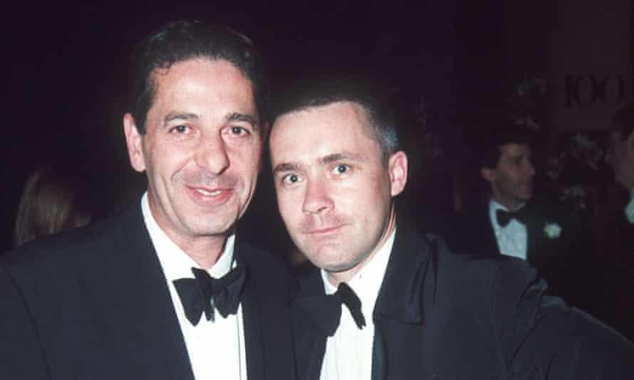 Charles Saatchi and Damien Hirst