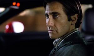 Jake Gyllenhall in Nightcrawler: 'straight-faced intensity'.