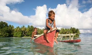 The island nation of Tuvalu between Hawaii and Australia is expected to be under water by the end of the century, but the business community's response is lacking.