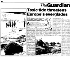 Guardian story of the original disaster