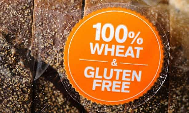 No grain no pain? Last year UK sales of gluten-free products reached £184m – up 15% from 2013. Photograph: Alamy