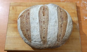 For most of breadmaking history, bread was similar to what we recognise as sourdough. Photograph: Graham Turner