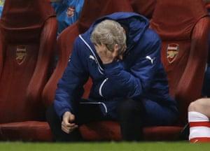 Arsene Wenger. Shock....