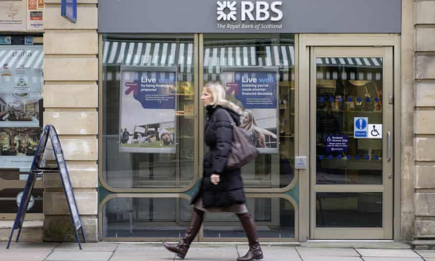 The Royal Bank of Scotland branch in Bath.