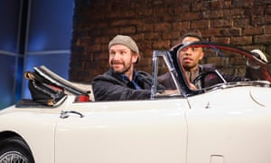 Man and Superman: Jack Tanner (Ralph Fiennes) flees with his chauffeur, played by Elliot Barnes-Worrell.