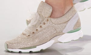 fe01e7382c8 Trainers have been making an appearance in high fashion catwalk shows... trainers from
