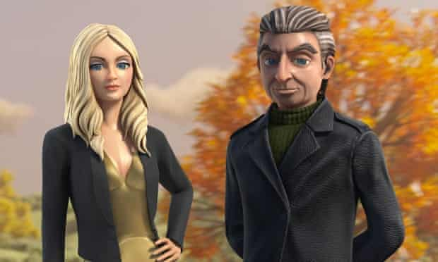 Thunderbirds Are Go: Lady Penelope and Parker.