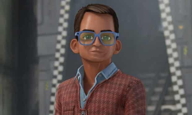 Thunderbirds Are Go: the restyled Brains.