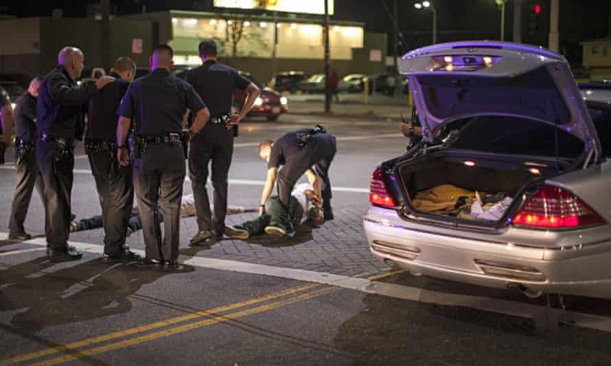 LAPD Make an Arrest