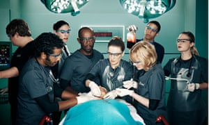 The trauma team work against the clock in the real-time hospital drama Critical on Sky 1.