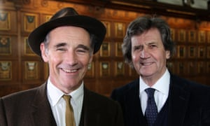 Mark Rylance talks to Melvyn Bragg on the South Bank Show.